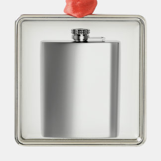 Stainless steel hip flask metal ornament