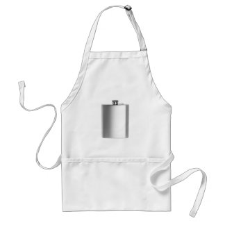 Stainless steel hip flask standard apron