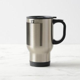 Stainless steel hip flask travel mug