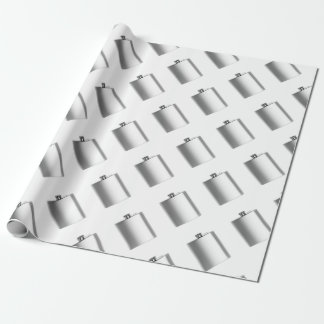 Stainless steel hip flask wrapping paper