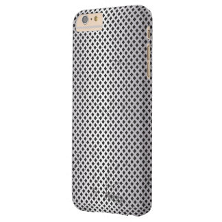 Stainless Steel Mesh Style Background Barely There iPhone 6 Plus Case