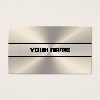 Stainless Steel Metal Business Card