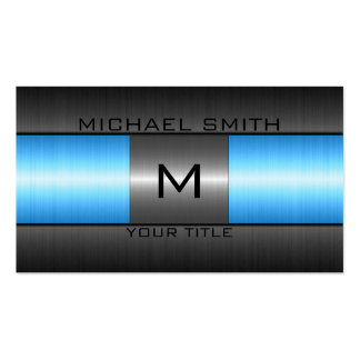 Stainless Steel Metal Business Card Template