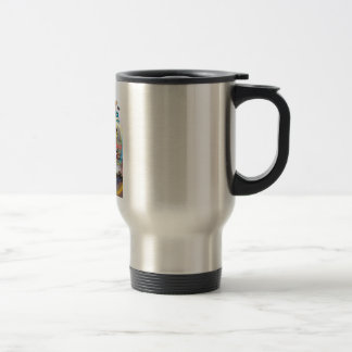 Stainless Steel Mug with Bible Verse Design