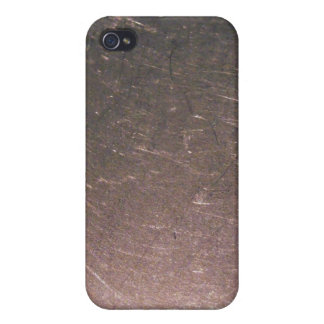 Stainless Steel Scratches iPhone 4/4S Cases