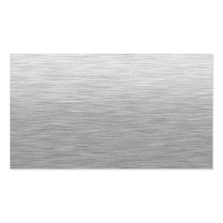 Stainless Steel Textured Business Card Templates