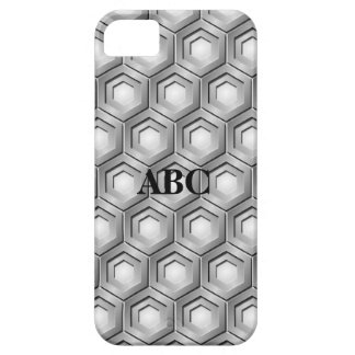 Stainless Steel Tiled Hex Case for iPhone5