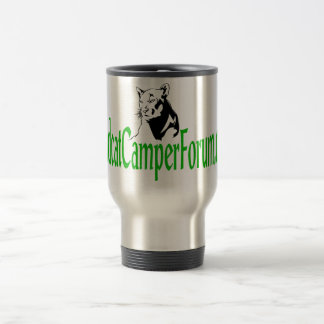 Stainless steel wildcat travel mug
