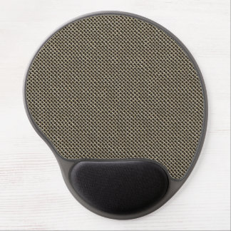 Stainless Steel Wire Mesh Pattern Gel Mouse Pad