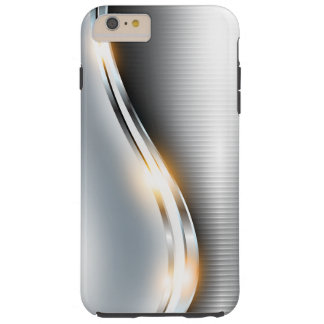 Stainless Wave Design - All Devices - Customize Tough iPhone 6 Plus Case