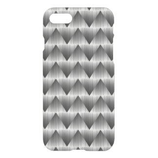 Stainless Zigzag iPhone 7 Clear Case