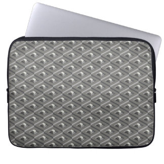 Staircase in Stairs pattern Laptop Sleeve