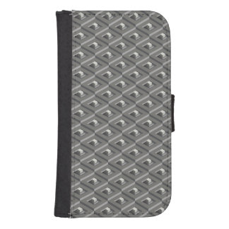Staircase in Stairs pattern Samsung S4 Wallet Case