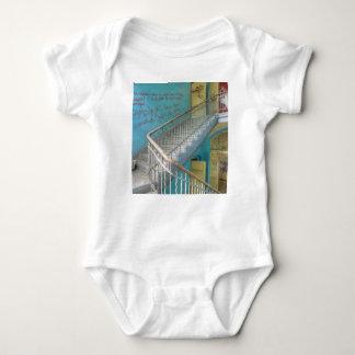Stairs 01.0, Lost Places, Beelitz Baby Bodysuit