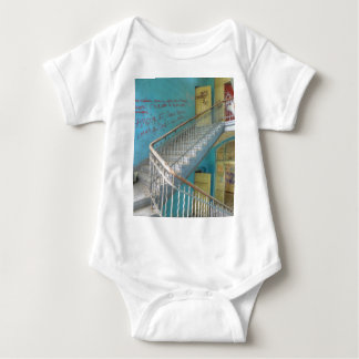 Stairs 01.0, Lost Places, Beelitz Baby Bodysuit