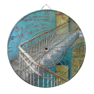 Stairs 01.0, Lost Places, Beelitz Dartboard