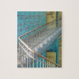 Stairs 01.0, Lost Places, Beelitz Jigsaw Puzzle