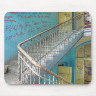 Stairs 01.0, Lost Places, Beelitz Mouse Pad