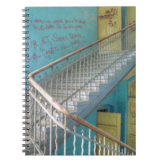 Stairs 01.0, Lost Places, Beelitz Notebook