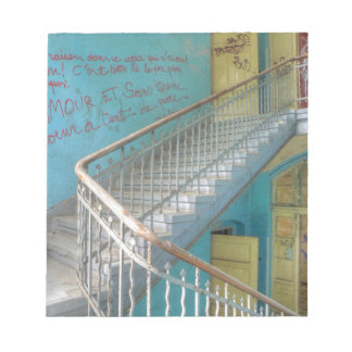 Stairs 01.0, Lost Places, Beelitz Notepad