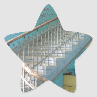 Stairs 01.0, Lost Places, Beelitz Star Sticker