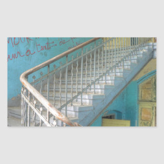 Stairs 01.0, Lost Places, Beelitz Sticker
