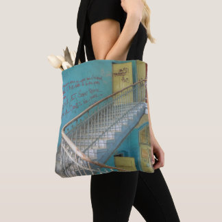 Stairs 01.0, Lost Places, Beelitz Tote Bag