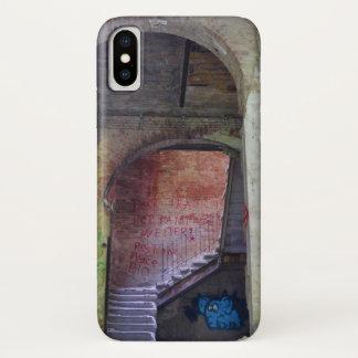 Stairs 02.0 ruin 02.2, Lost Places, Beelitz iPhone X Case