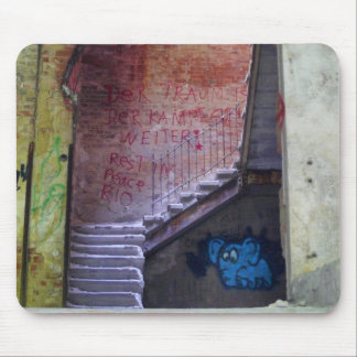 Stairs 02.0 ruin 02.2, Lost Places, Beelitz Mouse Pad