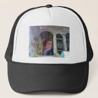 Stairs 02.0 ruin, Lost Places, Beelitz Trucker Hat