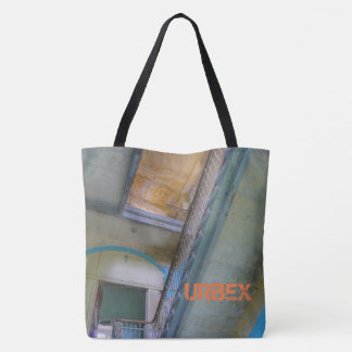 Stairs 02.3, Lost Places, URBEX, Beelitz Tote Bag