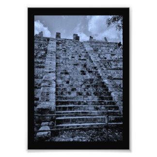 Stairs at Chichen Itza Photo