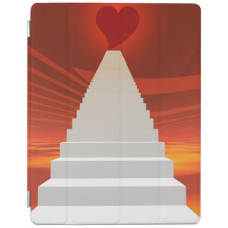 Stairs to love iPad cover