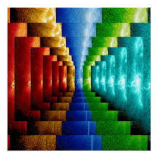 """""""Stairsteps"""" Art Perfect Poster"""