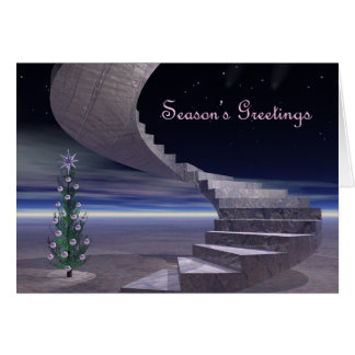 Stairway to Christmas Dreams Card