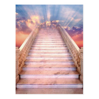 stairway to heaven postcard