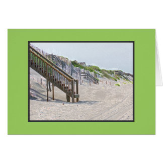 Stairway to Heaven - the Beach, that is! Card
