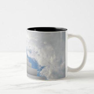 Stairway to heaven Two-Tone coffee mug