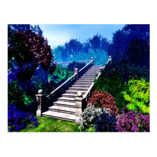 Stairway to Paradise Postcard