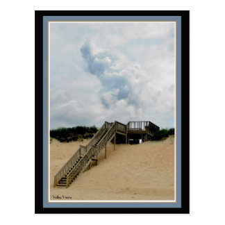 Stairway to Shore Postcard