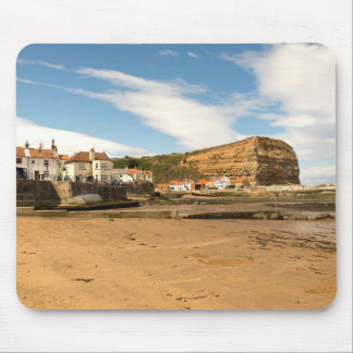 Staithes Harbour Mouse Pad