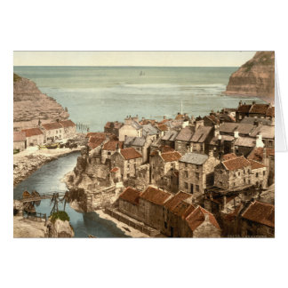 Staithes, Yorkshire, England Card