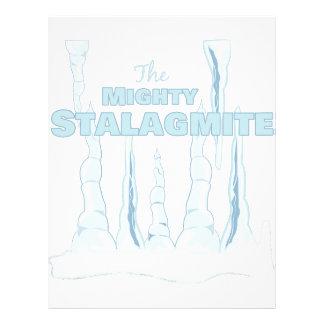 Stalagmite Letterhead