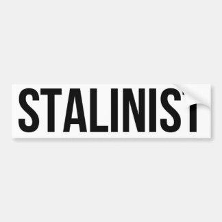 Stalinist Josef Stalin Soviet Union USSR CCCP Bumper Sticker