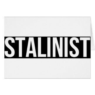 Stalinist Josef Stalin Soviet Union USSR CCCP Card