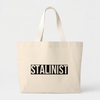 Stalinist Josef Stalin Soviet Union USSR CCCP Large Tote Bag