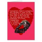 Stalker Anti-Valentines Day Card