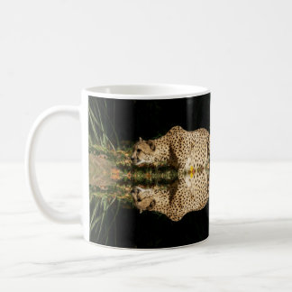 stalking cheetah coffee mug