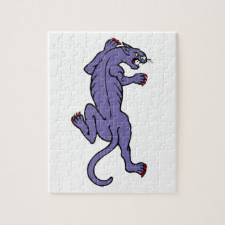 Stalking Panther in Purple Puzzles