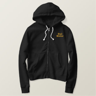 Stall Mucking Fleece Embroidered Hoodie